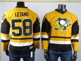 lemieux 66 jersey Australia - Pittsburgh Penguins Jerseys The Best Player Of 58 Kris Letan Jersey 66 Mario Lemieux High Quality Embroidered Men's Gray ice Hockey Jerseys