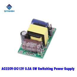 Wholesale Usb Audio Board Australia - 5W 220V To 12V Isolated switching power 220V TO 12V supply Power module board X7758