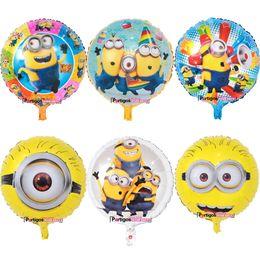 $enCountryForm.capitalKeyWord UK - 18'' Minion Balloon Helium Aluminum Foil Balloon Despicable Me Kid Toy Birthday Gift For Party Decoration Christmas Halloween Balloon Toys