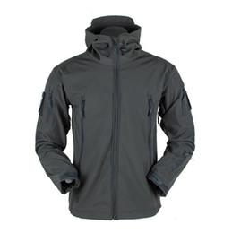 $enCountryForm.capitalKeyWord Australia - Winter Shark Skin Soft Shell Tactical Jacket Men Waterproof Fleece Coat Army Camouflage Windbreaker Jacket Hunt Clothes