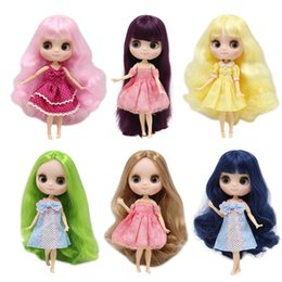 Dolls Symbol Of The Brand Free Shipping Tangkou Collection Hebburn Dress Up Dolls With Red Black Hair Big Head And Big Eyes Makeup Toys For Girls Gifts Toys & Hobbies