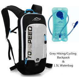 a8e994822a5a Outdoor Running Cycling Backpack 1.5L Bladder Water Bag Sports Camping Hiking  Hydration Backpack Riding Camelback Bag