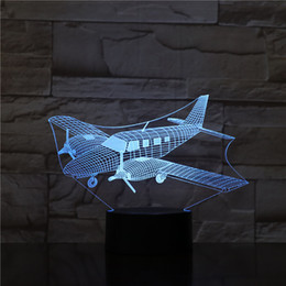 $enCountryForm.capitalKeyWord NZ - Creative New Interesting USB 3D LED 7 Color Changing Night Lights Helicopter Modelling Bedroom Home Decoration Travel Gifts Toy