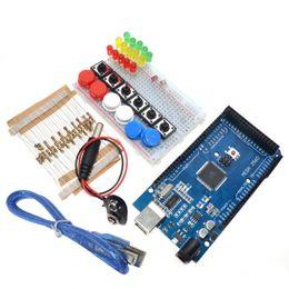 Mega Electronic Australia - Freeshipping Smart Electronics Integrated Starter Kit Mega 2560 mini Breadboard LED jumper wire button for kit compatile