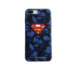 Figures Australia - camouflage America HEROS figure Film brand soft phone Case for iPhone 6 6s 7 8 8plus XR X back cover for iphone x xr 7plus xs max case shell