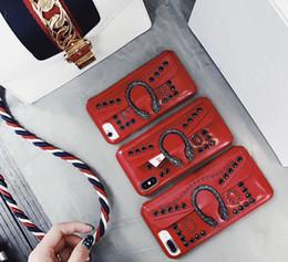 $enCountryForm.capitalKeyWord NZ - Designer Wallet Style Phone Case for Iphone 6 6s 6p 6sp 7 8 7p 8p Xr X xs Xsmax Brand Snake Brand Style Phone Case Wholesale