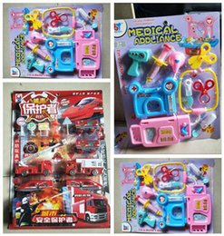 Kids Toys Boys Girl Toy Firefighter Cars Educational Cosplay Doctor Nurse Role Accessories Tools Birthday Play Best Gifts