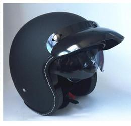 Xxl Motorcycle Half Helmets Australia - Russian haley half-helmet free shipping motorcycle helmet retro vintage motocross helmet 3 4 open face scooter helmets G