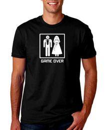 $enCountryForm.capitalKeyWord NZ - GAME OVER BLACK MEN T SHIRT WEDDING FUNNY COMEDY BRIDAL BACHELOR PARTY PANIC Men Women Unisex Fashion tshirt Free Shipping