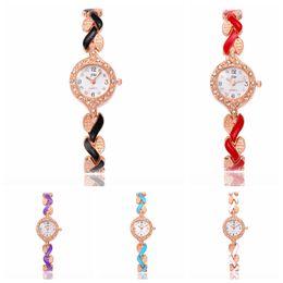 Leaf Bracelet Watch Australia - women Retro Quartz watch Fashion stainless steel Bracelet Bangle Ladies Tree Leaf Girl Watches