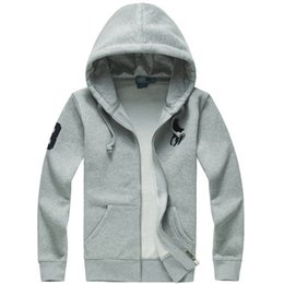 Animal Hoodies Sale UK - 2019 new Hot sale Mens polo Hoodies and Sweatshirts autumn winter casual with a hood sport jacket men's hoodies