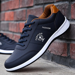 $enCountryForm.capitalKeyWord Australia - Shoes Mens Fashion Sneakers Spring Autumn Casual Loafers Student Outdoor Trend Skateboarding Shoes Track Field Walking Promotion Y190702