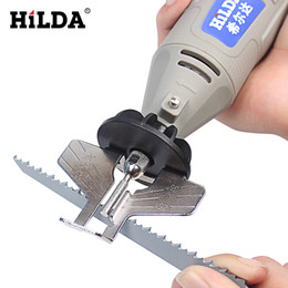 saw set tool Australia - HILDA Saw Sharpening Attachment Sharpener Guide Drill Adapter for Dremel rotary tool set accessories