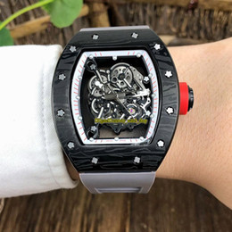$enCountryForm.capitalKeyWord Australia - Special Offer 3 Styles New RM 055 Steel Case Skeleton Dial Japan Miyota Automatic Mechanical RM 35-01 Mens Watch Rubber Strap Sport Watches