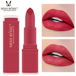 $enCountryForm.capitalKeyWord Australia - 1pcs 12 Colors Sexy Pigments Makeup Matte Lipsticks Beauty Lips Long Lasting Waterproof Easy To Wear Lips Make Up Cosmetic Tool