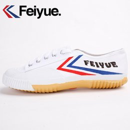 $enCountryForm.capitalKeyWord Canada - FEIYUE Shaolin soul track shoes authentic kung fu shoes canvas Children sneakers Summer white shoes 31-37