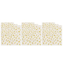 food wax paper Australia - Reusable Beeswax Food Wrap 9 Piece, Bees Wax Paper Wrap, Sustainable Plastic Free Food Storage - 3 Small, 3 Medium, 3 Large, Ban
