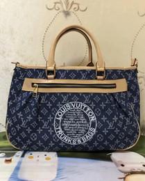 ed8f7e427cc0c 2019 heißer Verkauf Mode Marke Damen Tasche einfache Mode Handtasche Kreuz  Muster PU Leder Einkaufstasche große Umhängetasche