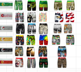 Wholesale printing staples resale online - Ethika Men Staple logo random located series printed underwear underwear skateboard street fashion streched legging quick dry