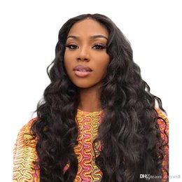 $enCountryForm.capitalKeyWord Australia - Body Wave Wig 13x4 Deep Part Lace Front Human Hair Wigs for Black Women Malaysia Remy Full Ends Pre Plucked with Baby Hair
