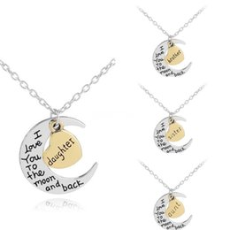 flower gift for love Australia - Girls Fashion Flower Necklace With A-Z 26 Letter Pendant Charm Alphabet Kids Gold Chain Necklace For Child Jewelry Gift#660