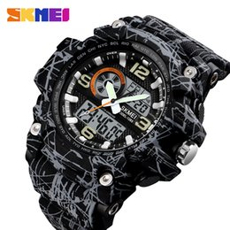 Silicone diSk online shopping - Explosive Fashion Sports Military Industrial LED Large Watch Disk Sports Waterproof Watch Machine Core Night Light Display Multi color