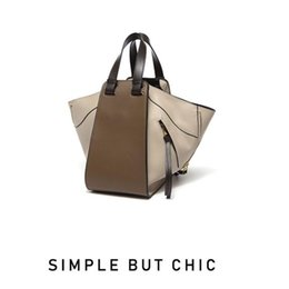 $enCountryForm.capitalKeyWord Australia - Elegant2019 Early Autumn Luxurious2019 Chocolates Spelling Color Will Capacity Wing Package Genuine Leather Portable Woman Bag