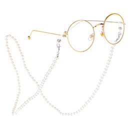 eyeglass anti slip Australia - 2019 Women Reading Glasses Chain Metal Alloy Cords Holder Neck Strap Anti-Slip Eyeglasses Chain Pearl Lanyard Eyewear Stars R