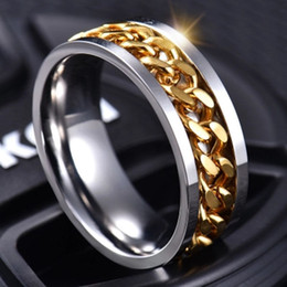 $enCountryForm.capitalKeyWord Australia - Hot Sale Mens Rings Vintage Hip Hop Jewelry Luxury Rings Gold Silver Plated Love Rings Fashion Jewelry Wholesale 2019