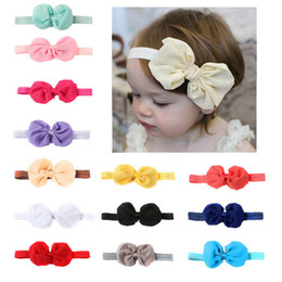 Toddlers Tiaras Baby Girls Australia - Headwrap Baby Headbands Headwear Girls Bow knot Hairband Head band Infant Newborn Toddlers Gift tiara Hair Accessories Clothes