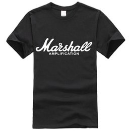 music man guitars Australia - 20SS Marshall T Shirt Logo Amps Amplification Guitar Hero Hard Rock Cafe Music Muse Tops Tee Shirts For Men Fashion T-shirts8566