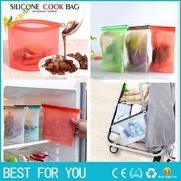 $enCountryForm.capitalKeyWord Australia - New Hot Reusable Vacuum Silicone Food Bag Sealer milk Fruit Meat Storage Bags Fridge Food Storage Containers Refrigerator Bag