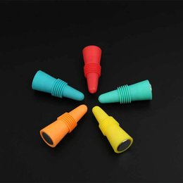 Fresh tools online shopping - Silicone Red Wine Bottle Stopper Reusable Wine Bottle Stopper Fresh keeping Sealed Stopper Bottles Spout Lid Bar Tools FFA2302