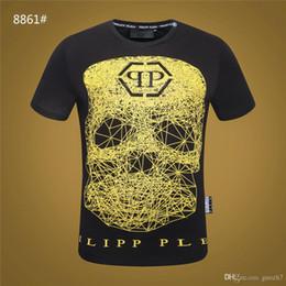 4a33aba959 Hip Hop Fluorescent Dabbing Skeleton Mens T-Shirt Punk Black Shirts  Luminous Men Funny Skull T Shirts Glow In Dark Mele Tees