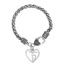 Native American Charms Australia - Fishhook Handmade Heart of Truth Yoga Satya Pewter Pendant Hindu Pagan Honesty Bracelet Native American Indian Jewelry