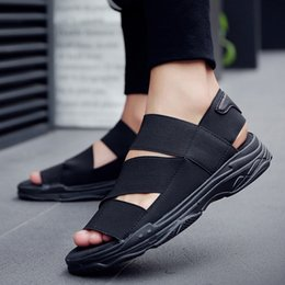 $enCountryForm.capitalKeyWord NZ - Leader Show Men Sandals Summer High Quality Man Flats Shoes Outdoor Men's Beach Shoes Fashion Non-slip Hot Sale Adult Sandals