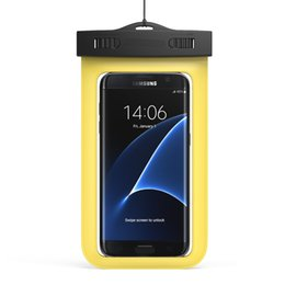 $enCountryForm.capitalKeyWord Australia - Hot sale Summer Swimming Phone Waterproof Case Bag Cell Phone Water proof Dry Bag for smart phone up to 5.8 inch Diagonal