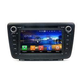Wholesale tv links resale online - 2 din quot Android Car DVD GPS Head Unit for Suzuki Baleno Car Radio Bluetooth WIFI USB Mirror link GB RAM GB ROM