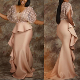 ChoColate fat online shopping - Fashion South African Style Sheath Mermaid Prom Evening Dresses for Fat Person Plus size Custom Made Party Wear Maxi Gowns Black Skin Gowns