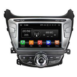 Hyundai elantra toucH screen radio online shopping - IPS Octa Core din quot Android Car dvd Player for Hyundai Elantra RDS Radio GPS Bluetooth TV G WIFI USB GB RAM GB ROM