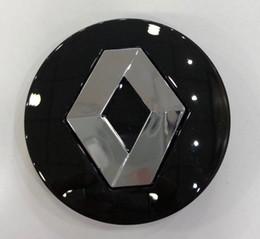 Capuchons de centre de roue 57mm RENAULT Badge emblème logo en Solde