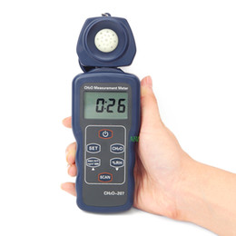 $enCountryForm.capitalKeyWord Australia - Hot sale LCD Portable Formaldehyde CH2O Gas Detector Humidity Measurement Tester Precision 0~4.00ppm 0-5.00mg m3 Formaldehyde Monitor free s
