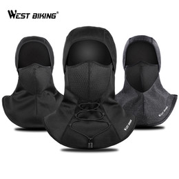 winter fleece face mask NZ - West Biking Winter Cycling Face Mask Fleece Thermal Balaclava Keep Warm Windproof Ski Mask Cap Snowboard Bike Bicycle Face Mask