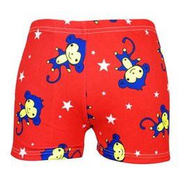 $enCountryForm.capitalKeyWord Australia - New Practical 7-9Y Swimming Trunks for Boys Cartoon Animal Shark Monkey Kids Swimsuit Bathing Suit Elastic Swim Shorts Blue Red