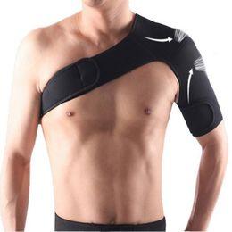 Venta al por mayor de Soporte de hombro Brace Baloncesto Manga del brazo Hombres Seguridad Deportiva Lesiones Guardia Postura Corrector Protector de espalda