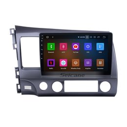 $enCountryForm.capitalKeyWord NZ - Android 9.0 HD 1024*600 touch screen Car GPS Navi for 2006-2011 Honda CIVIC left with Bluetooth WIFI support car dvd Steering Wheel Control