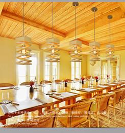 E27 Light Holder Australia - E27 Lamp Holder Wood Pendant Lights for Restaurant Bar Coffee Dining Room Wood Lamp Hanging Light Fixture New Arrival