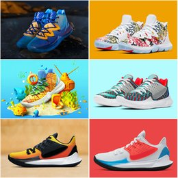 RubbeR body belt online shopping - 2020 Pineapple House Kyrie Mens Basketball Shoes s Concepts Low Multi Color Sunset Orion s Belt Keep Sue Fresh Graffiti Sponge Sneakers
