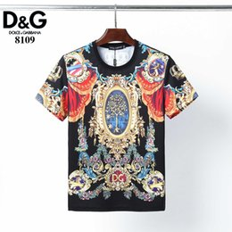 best fashion t shirt brands 2020 - Handsome New Fashion Brand And Original Design Men And Women T Shirt Exquisite Printing T Shirt Best Quality Short Sleev