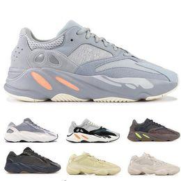 cf3047a29 With Box 700 V2 Wave Runner Geode Static Salt Inertia OG Solid Grey Mauve Mens  Kanye West Running Shoes Women Sports Athletics Sneakers